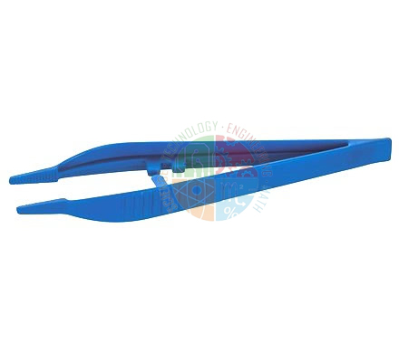 Forceps Glass Filled Nylon StrBlunt 125mm (Pk20)