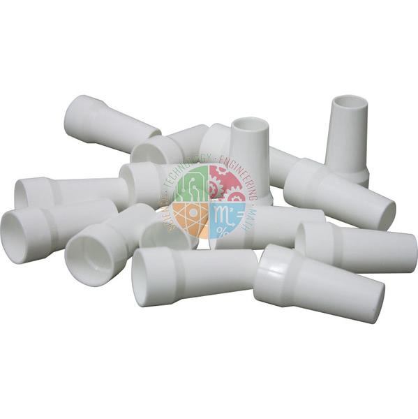Plastic Disposable Mouthpieces for Peak Flow Meter (Pk 15)